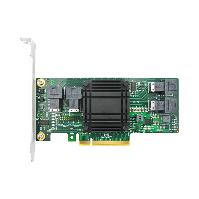 PCIe to SAS Expansion Card, PCIe x8 to 4x SAS SFF-8643 connectors