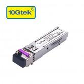 1.25Gb/s BiDi SFP Tx1490/Rx1550nm, 80KM