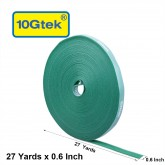 Self-Attaching Reusable Hook & Loop Fastening Tape, Double Side Cable Tie,  L 27(25cm) yds, W 0.6''(1.45cm)