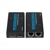 HDMI to RJ45 (Dual) Extender, 30-Meter