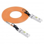 Orange Color SFP+ DAC Twinax Cable Passive 30AWG 0.5~3 meter