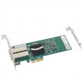 1.25G Network Card, Dual SFP port, X4 Lane, Intel E1G42EF equivalent