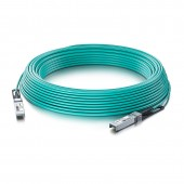 10G SFP+ to SFP+ Active AOC Cable, OM3 MMF
