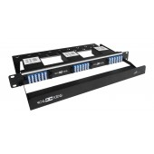 72 Core High Density MPO Fiber System, 1U, 6 ports MPO to 72 ports LC connectors, SMF