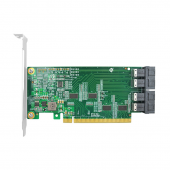 PCIe to SAS Adapter Card, PCIe x16 to 4x SFF-8643 connectors