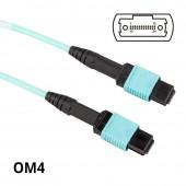 MPO to MPO, Multimode OM4 50/125μm, 24-Core